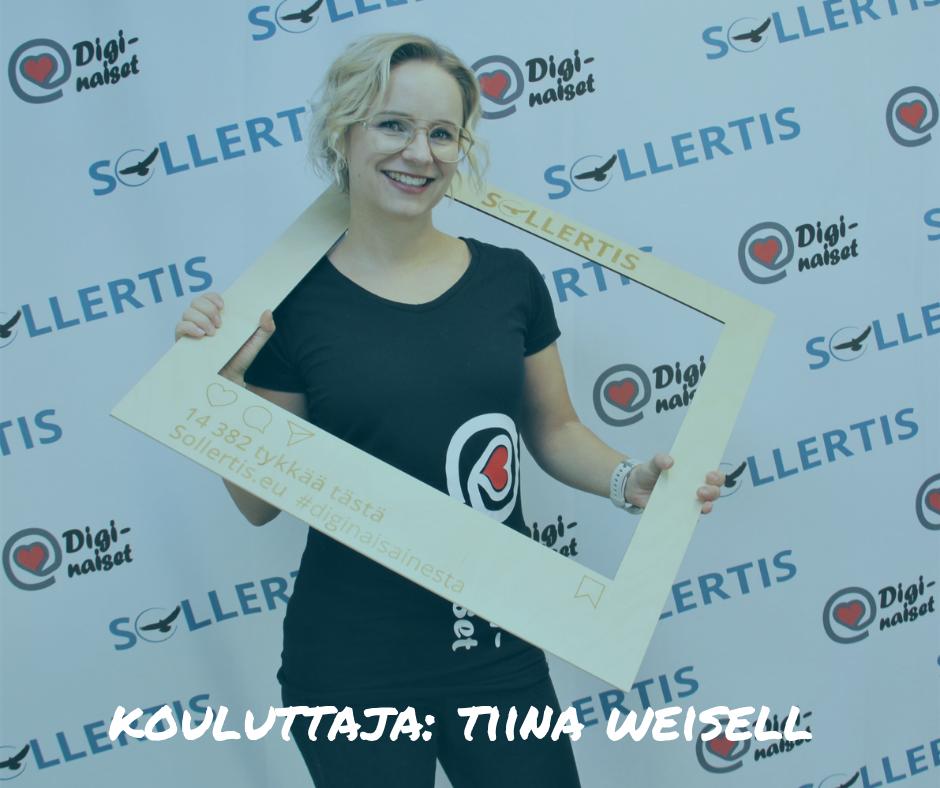 Koluuttajan Tiina Weisell